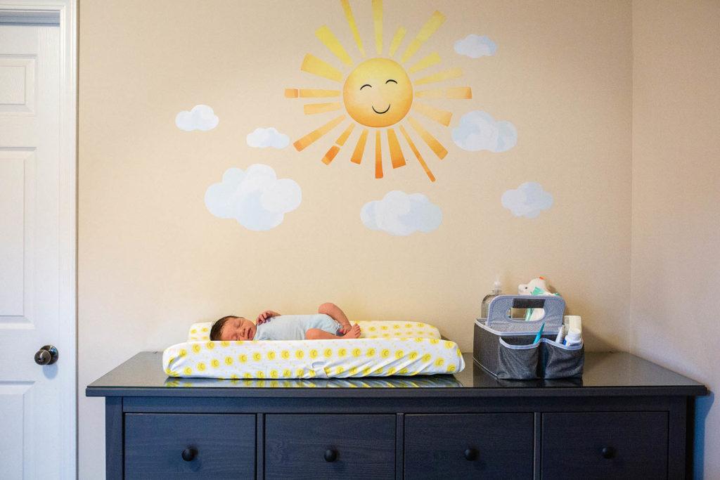 newborn photo session morrisville nc